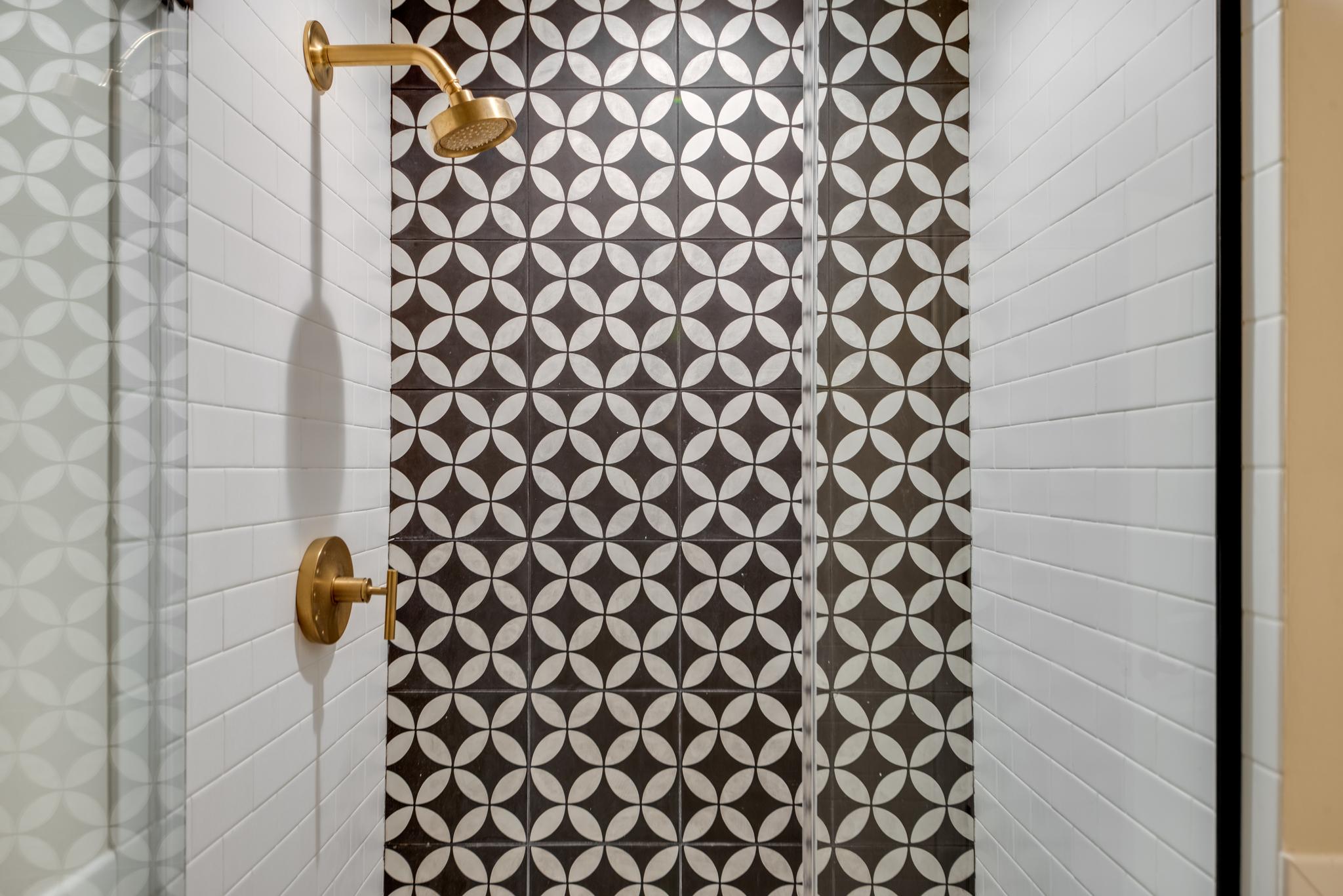 Custom Shower Tile